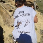 Paleo Adventures Field Crew in action near Lusk Wyoming