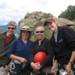 Instructors on Shining Mountain Waldorf Class Trip