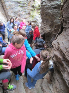 Students love the Hidden Room challenge hike